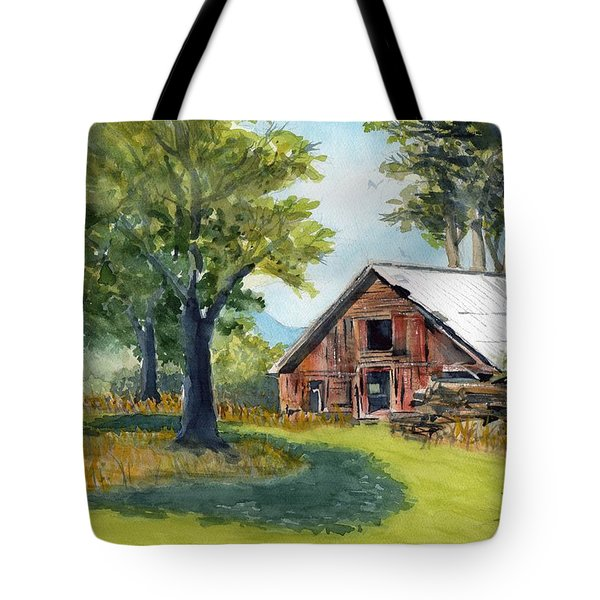 Country Framework Tote Bag
