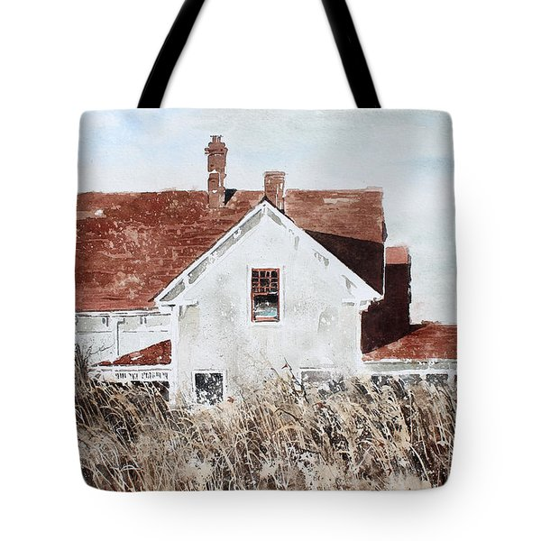Country Home Tote Bag by Monte Toon