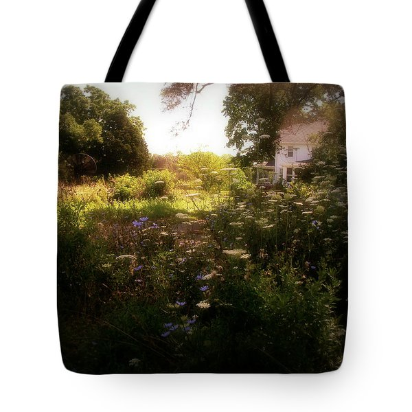 Country House Tote Bag by Cynthia Lassiter