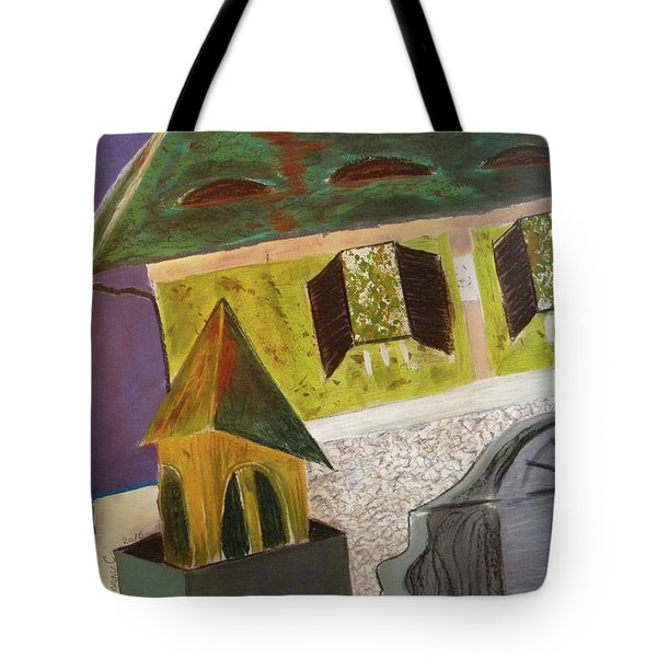 Country House Tote Bag by Manuela Constantin