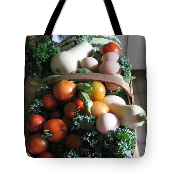 Country Kitchen Harvest Tote Bag