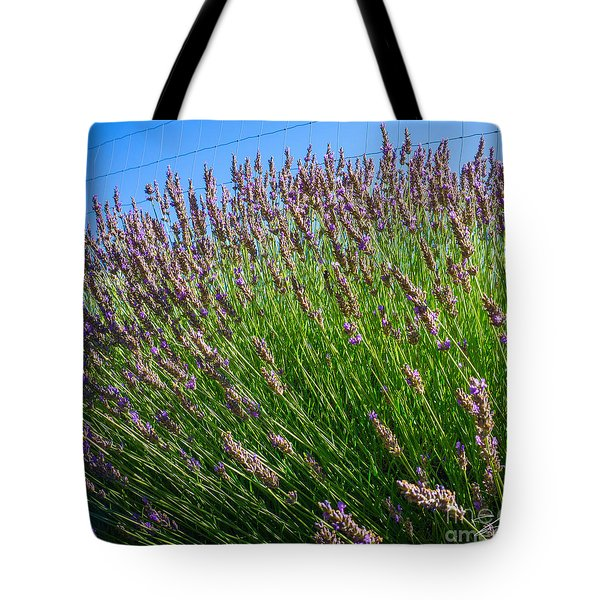 Country Lavender I  Tote Bag