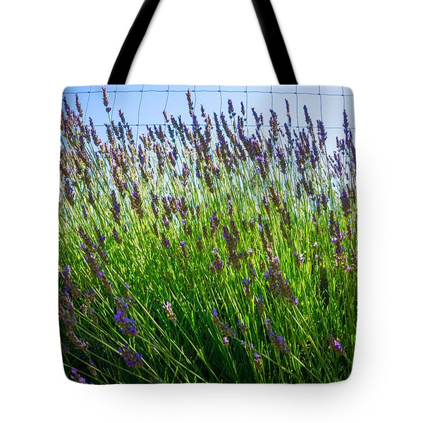 Country Lavender II Tote Bag
