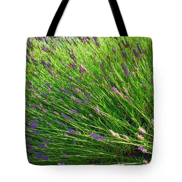 Country Lavender Vi Tote Bag