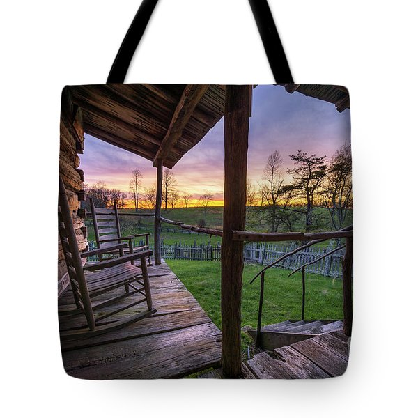 The Sitting Place Tote Bag