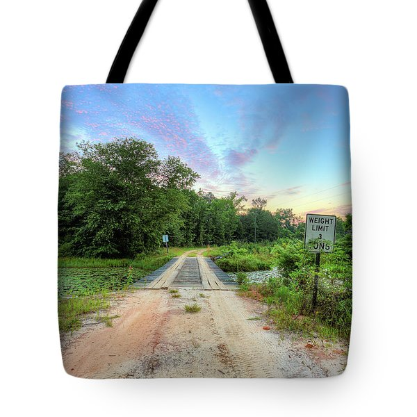 Tote Bag featuring the photograph Country Living Sunrise by JC Findley