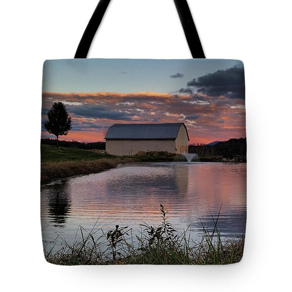 Country Living Sunset Tote Bag
