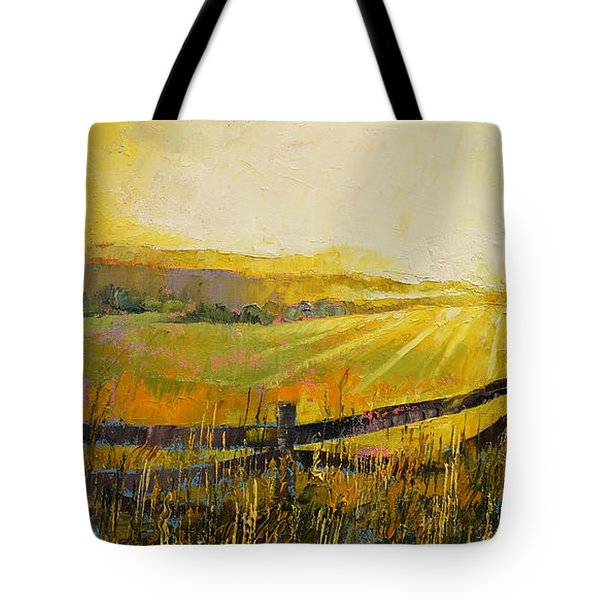 Country Meadow Tote Bag