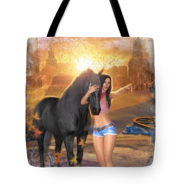 Country Memories 2 Tote Bag