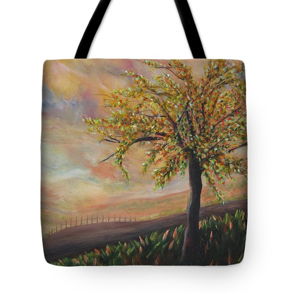 Country Morn Tote Bag