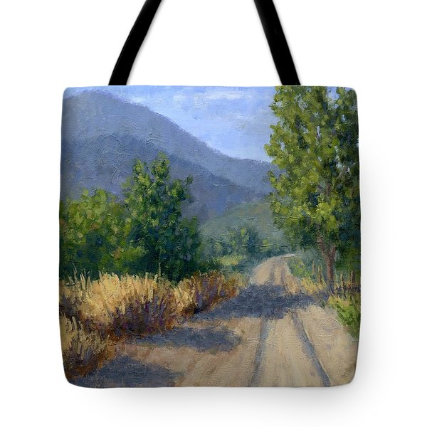 Country Morning Tote Bag