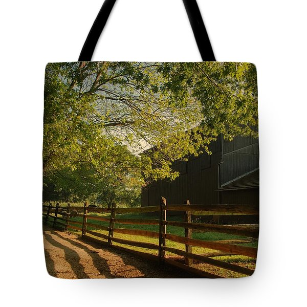 Country Morning - Holmdel Park Tote Bag