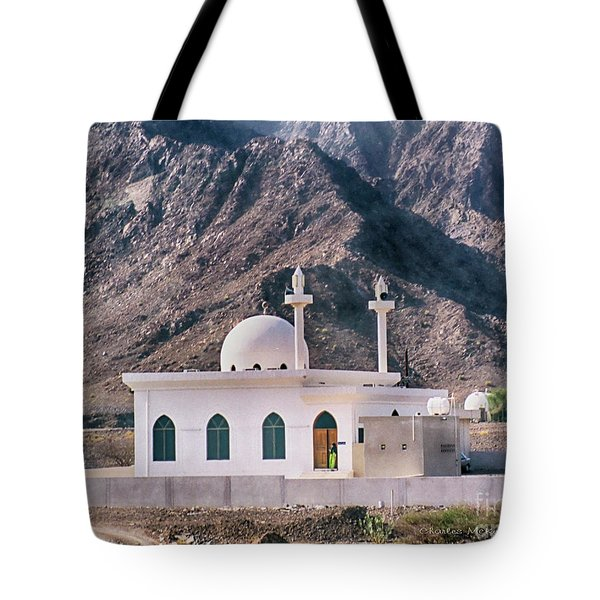Tote Bag featuring the photograph Country Mosque by Charles McKelroy