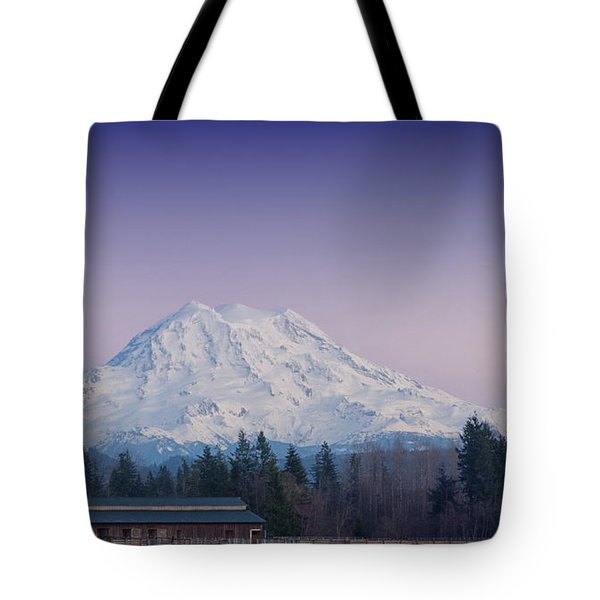 Country Moutain Tote Bag