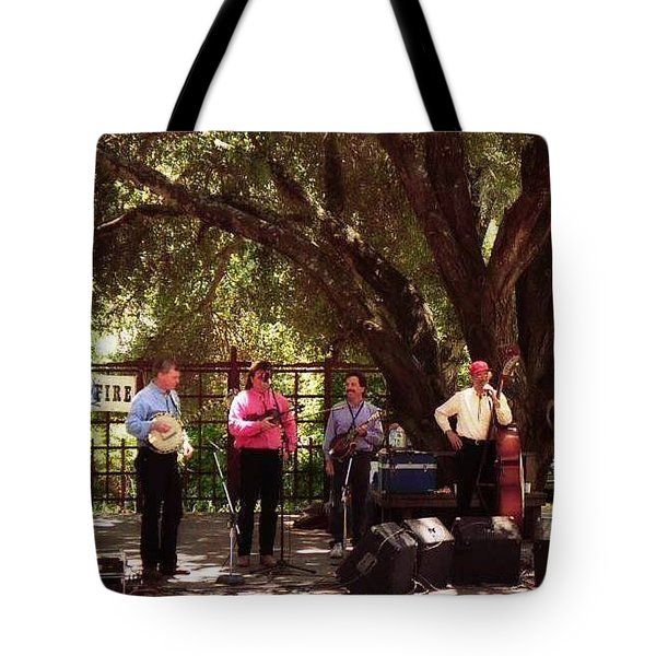 Country Music California Stage Tote Bag