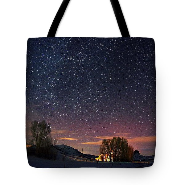 Country Night Life Tote Bag