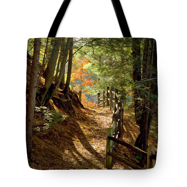 Country Path Tote Bag