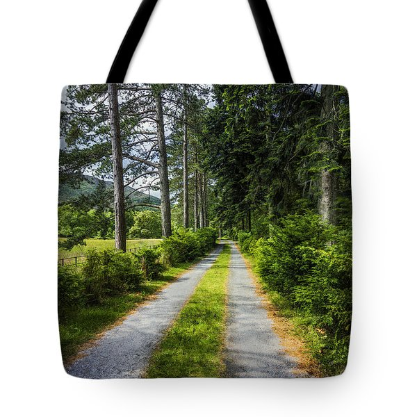 Country Path Walks Tote Bag by Ian Mitchell