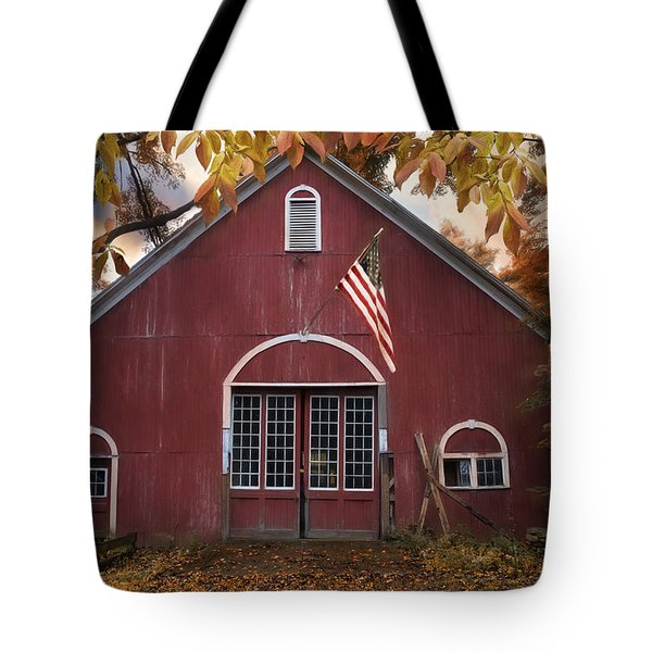 Tote Bag featuring the photograph Country Patriot by Robin-Lee Vieira