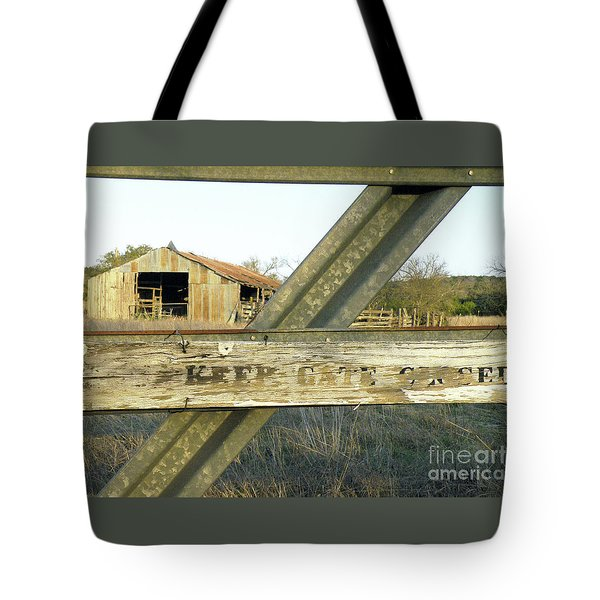 Tote Bag featuring the photograph Country Quiet by Joe Jake Pratt
