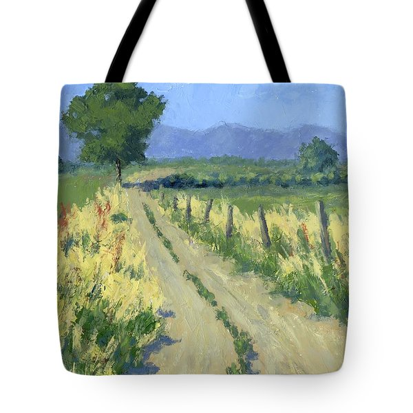 Country Road Tote Bag