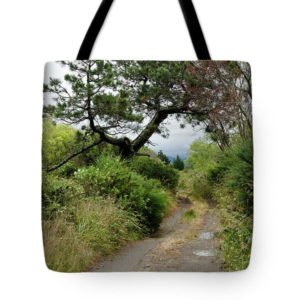 Country Road. New Zealand Tote Bag