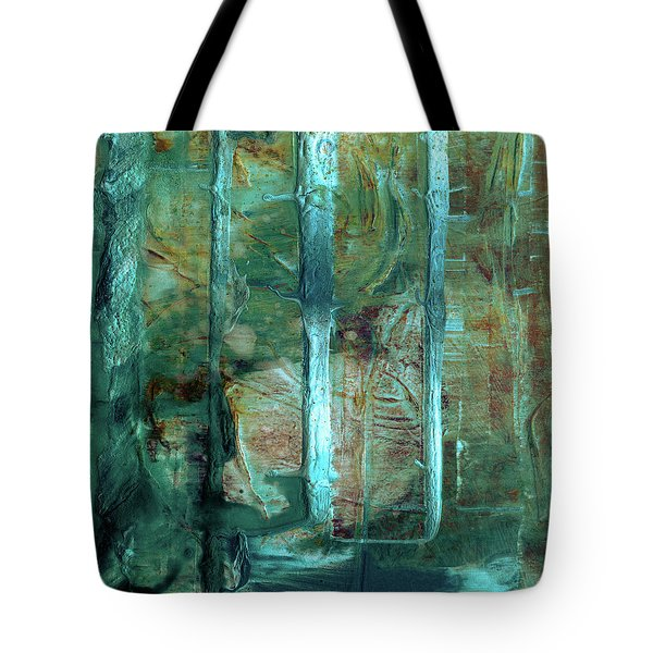 Country Roads - Abstract Landscape Painting Tote Bag
