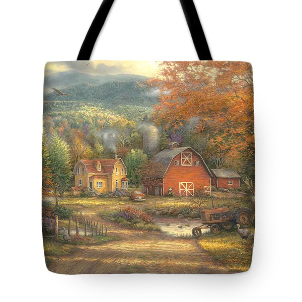 Country Roads Take Me Home Tote Bag