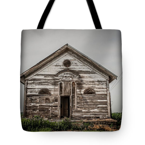 Country School Tote Bag by Ray Congrove