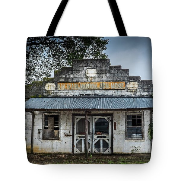 Country Store In The Mississippi Delta Tote Bag