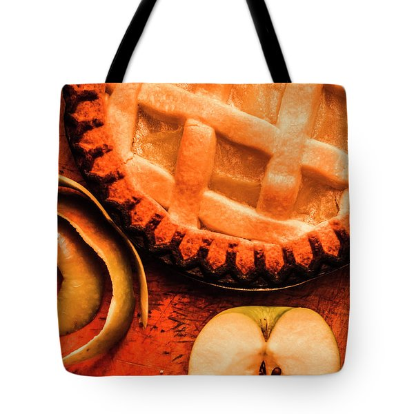 Country Style Baking Tote Bag