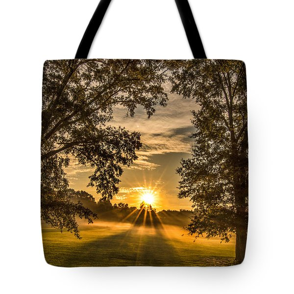 Country Time Rise Tote Bag