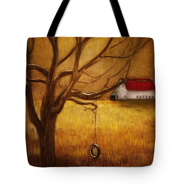 Country Tire Swing Tote Bag