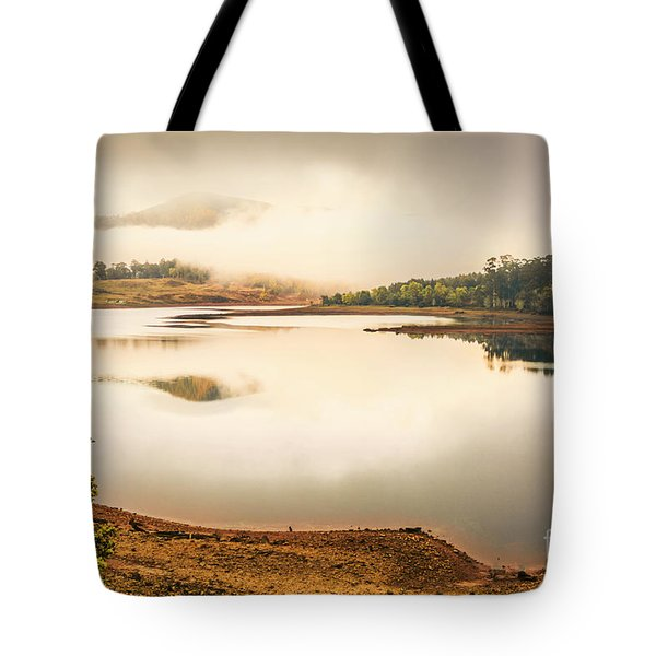 Country Waters Tote Bag