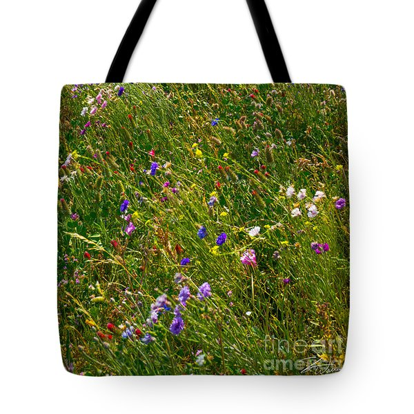 Country Wildflowers I   Tote Bag
