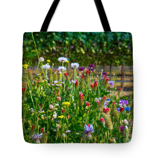 Country Wildflowers II Tote Bag