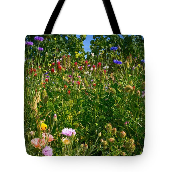 Country Wildflowers IIi Tote Bag