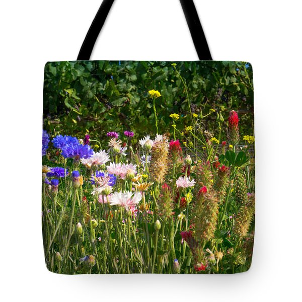 Country Wildflowers Iv Tote Bag