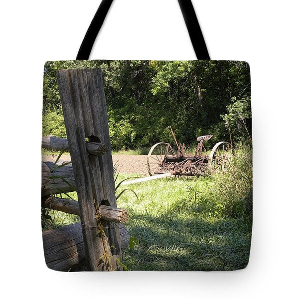 Country Work Tote Bag