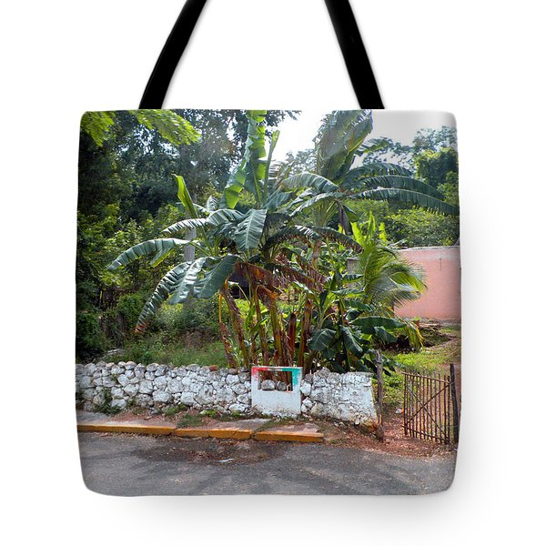 Countryside Along The Yucatan Peninsula Tote Bag by Dianne Levy