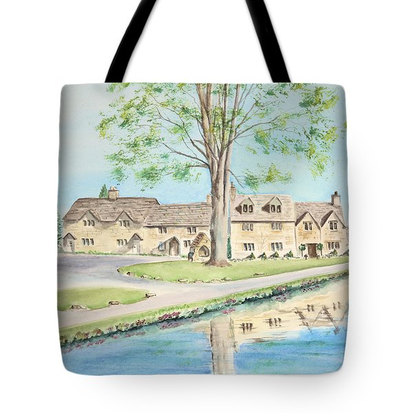 Countryside Cottages Tote Bag