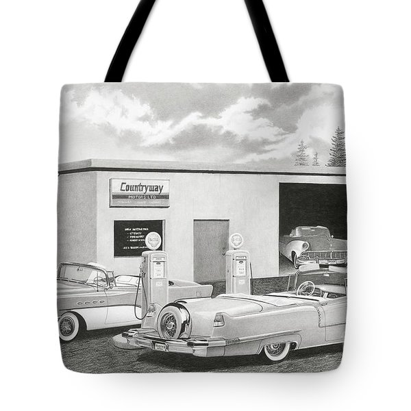 Countryway '56 Tote Bag