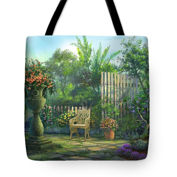 Country Contrasts Tote Bag