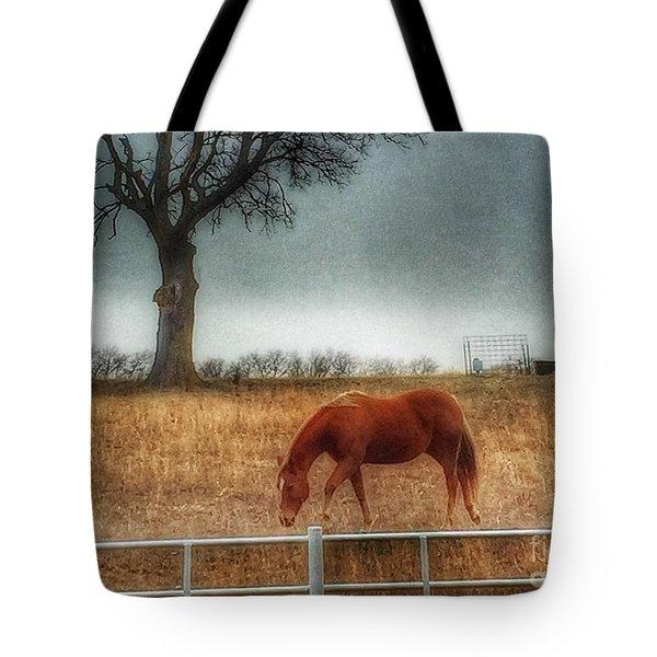 County Road 4100 Tote Bag