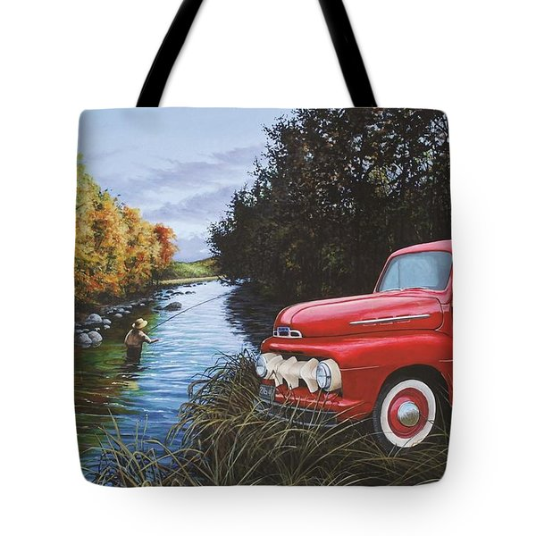 Couple Of Old Timers Tote Bag