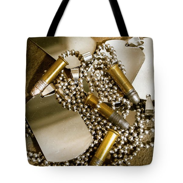 Courage And Bravery Tote Bag