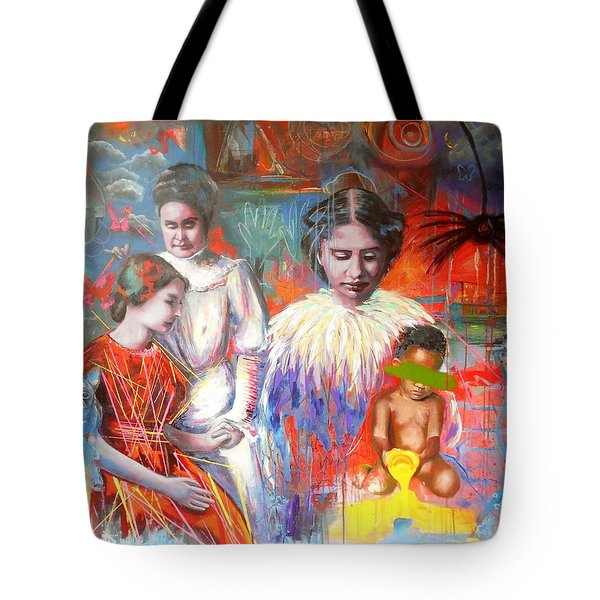 Courage- Large Work Tote Bag