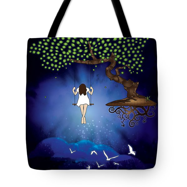 Dreamscape Tote Bag by Serena King