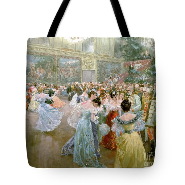 Court Ball At The Hofburg Tote Bag