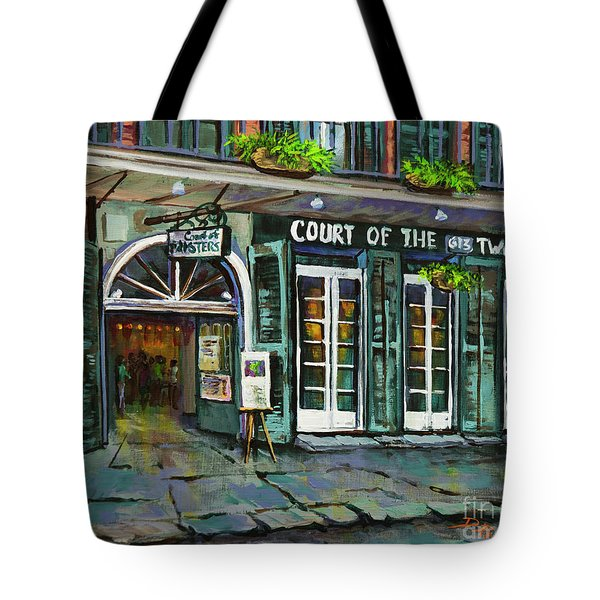 Court Of The Two Sisters Tote Bag